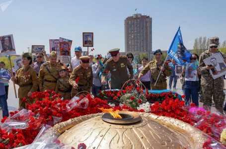 Туркменистан отмечает 74-й праздник победы в Великой Отечественной войне