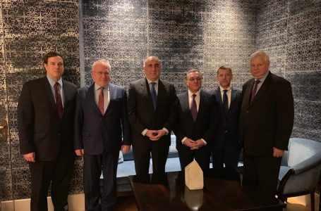Зограб Мнацаканян встретился с сопредседателями Минской группы ОБСЕ