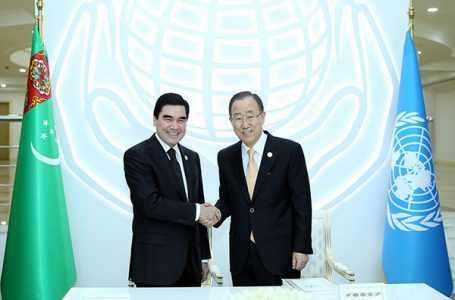 Туркменистан и ООН обсудили вопросы по снижению опасности бедствий