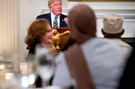 Дональд Трамп провел ифтар в Белом Доме