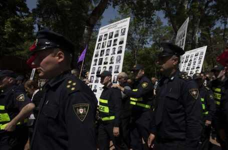 Митинги в День Победы в Тбилиси