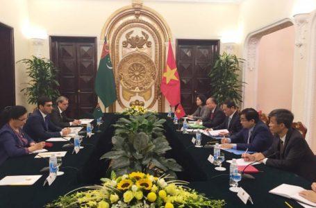 Туркменистан и Вьетнам нацелены на совместные экономические проекты