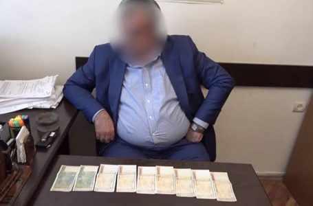Высокопоставленный чиновник пойман с поличным в Армении в момент получения взятки