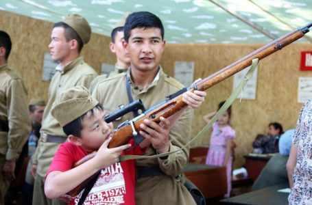 Ужасы войны. В Ташкенте впервые организовали масштабные инсталляции военных лет.
