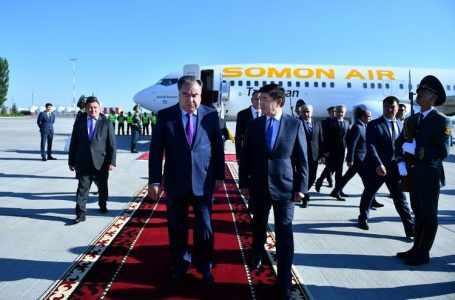 Рахмон встретился с президентом Афганистана в Бишкеке в кулуарах саммита ШОС
