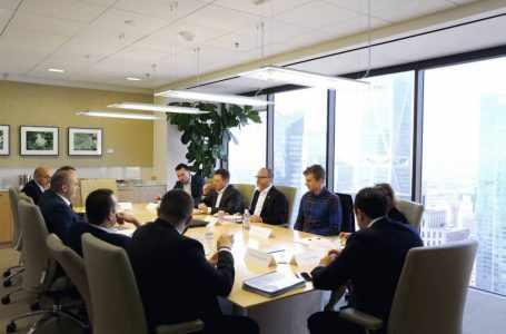 Премьер-министр информирует руководителей инвестиционных фондов США об инвестиционном климате Грузии