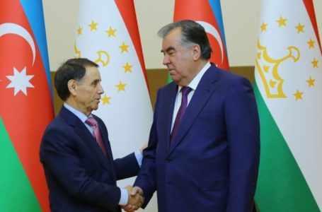 Премьер-министр Азербайджана и президент Таджикистана встретились в Душанбе