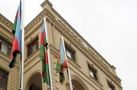 Министерство обороны Азербайджана выступило с заявлением о прифронтовой ситуации