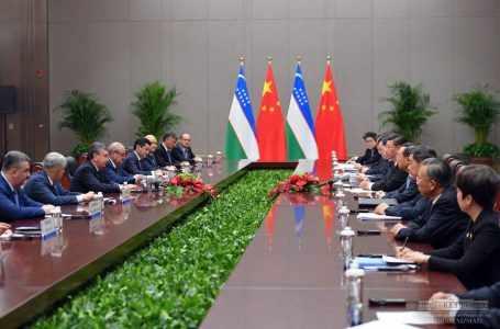 Развивается сотрудничество Узбекистана и Китая