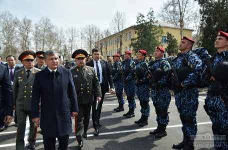 Опубликован законопроект о Национальной гвардии Узбекистана