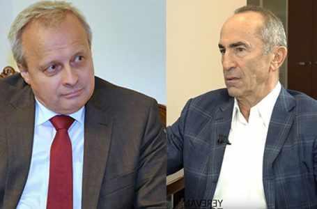 Посол России встретился с экс-президентом Кочаряном