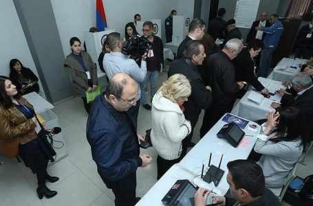 Местные выборы приводят к потерям партии Пашиняна