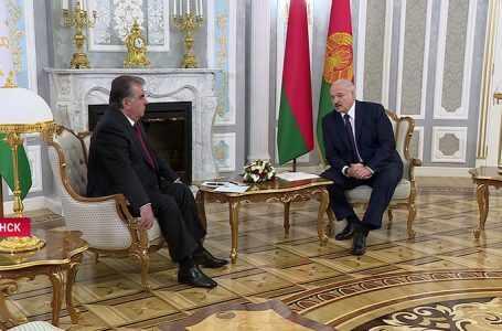 Прямые связи рассматриваются как движущая сила белорусско-таджикского сотрудничества
