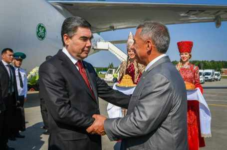 Президент Туркменистана посетил Республику Татарстан с рабочим визитом