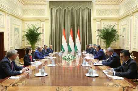 Лидер Таджикистана и президент ЕБРР провели в Душанбе переговоры для обсуждения сотрудничества