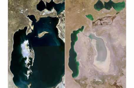 Узбекистан призывает ШОС сохранить Аральское море