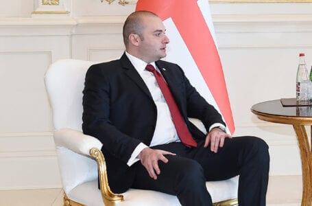 Бахтадзе встретился с послом Китая в Грузии