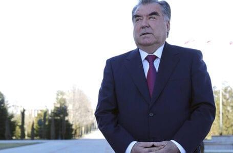Председатель Госдумы РФ встретился с президентом Таджикистана