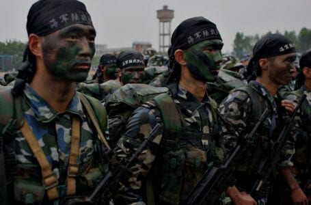 Таджикско-китайские антитеррористические учения начались в Ишкашиме
