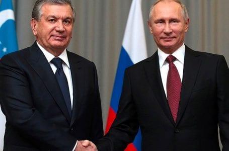 Шавката Мирзиёев пока не едет в Россию