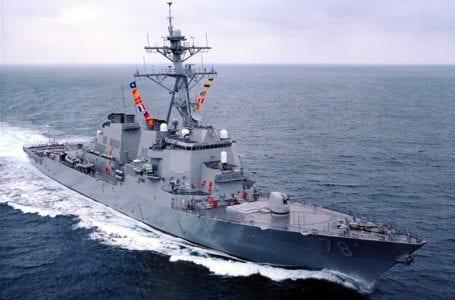 Корабль США посетил порт Батуми