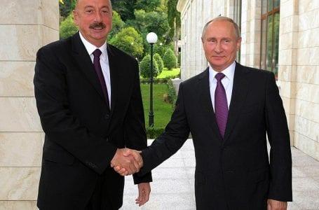 Алиев выразил недовольство Путину поставками оружия в Армению
