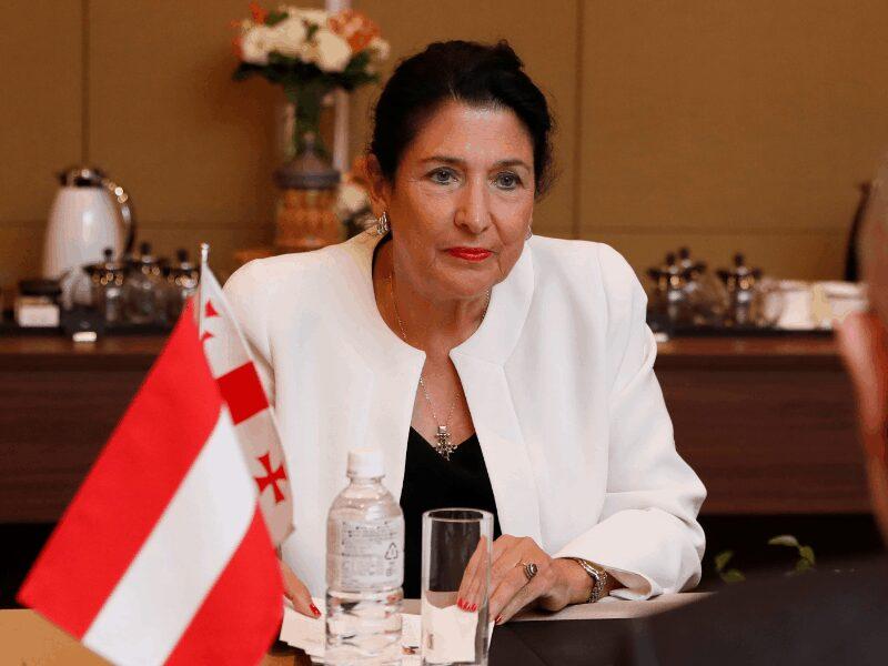 Президент Грузии: ЕС должен использовать свои ресурсы для установления мира в регионе