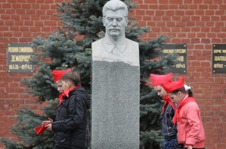 Сталин возродился в городах Южной Осетии