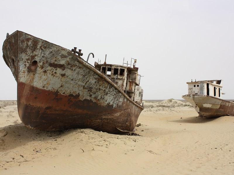 Узбекистан: объявлены результаты экспедиций на дно Аральского моря