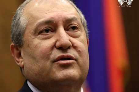 У президента Армении Саркисяна выявлен коронавирус