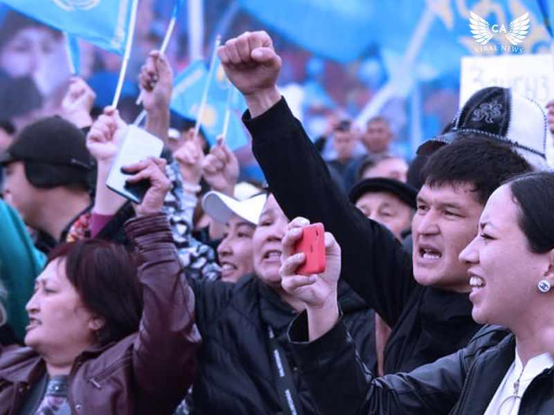 Появилась информации о жестком обращении Казахстанской полиции с демонстрантами