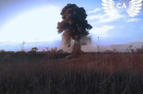 Неразорвавшиеся боеприпасы — страшные последствия военных действий в Армении и Азербайджане