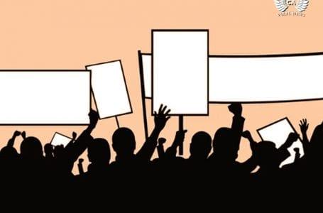 Казахстанский активист сразу после освобождения провел несанкционированный митинг