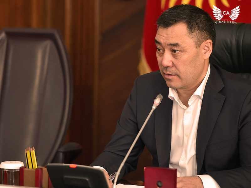 Глава Кыргызстана отправится в Казахстан