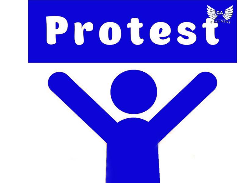 В Алматы вновь проходят акции протеста возле Китайского посольства