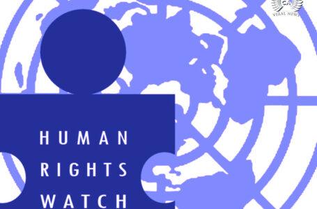 Международная правозащитная организация (HRW) вновь пытается повлиять на Армению?