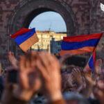 Сторонники Пашиняна провели митинг в столице Армении
