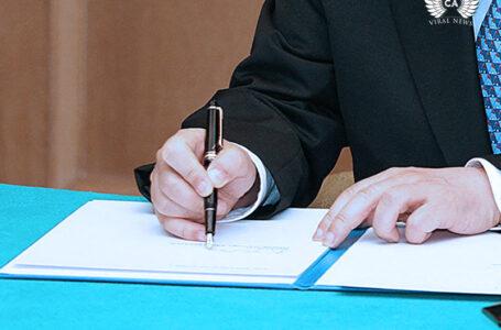 Глава Казахстана встретился с чиновником из Северной Македонии